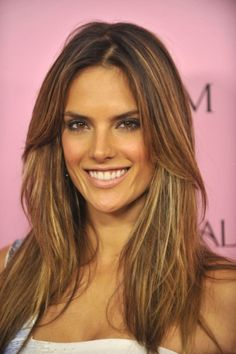 Victoria Secret Model Alessandra Ambrosio Smoky Eyes