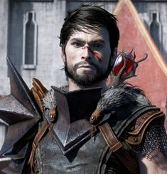 The protagonist of Dragon Age II. Hawke is a refugee from Lothering, who barely escaped the Blight's invasion and over a decade, became the Champion of Kirkwall. Dragon Age Hawke, Anders Dragon Age, Cullen Dragon Age, Dragon Age 2, Medieval Fantasy, Sci Fi Fantasy, Dragon Age Wallpaper, Ice Mage, Garrett Hawke