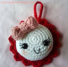 """Mansi the """" Plucked Flower """". Super cute tutorial by A is for Amigurumi. So detailed, adore it: thanks so xox"""