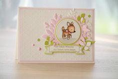 Babykarte, Karte zur Geburt eines Mädchens Diy Cards Baby, Banner, Scrapbooking, Stampin Up, Special Occasion, Christmas Cards, Layout, Etsy Shop, Frame