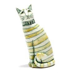 """China Cat"" by Anna Noel at The Clay Studio. 