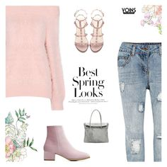 """""""You Came As A Ray Of Light, Made My Life Cheerful & Bright - Yoins IX"""" by paradiselemonade ❤ liked on Polyvore featuring H&M"""
