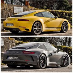 "1,346 Likes, 12 Comments - @rue965 on Instagram: ""• Carrera T (yellow) - GT3 touring"""