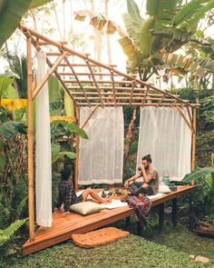 Slip into this eco bamboo home and fully immerse yourself in the natural ambiance of Bali. Booking this Hideout Lightroom will guarantee two things: the perfect nature lounge and a private getaway to unwind as you welcome in another year. | Photo Credit: The Nomad