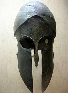 (only thing missing is a scythe) Hoplite Helmet, 350 BC