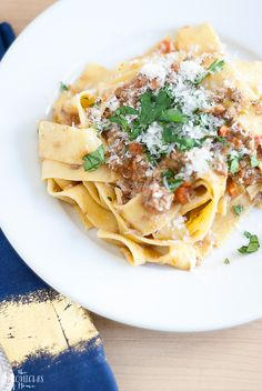 Recipe for authentic, traditional bolognese sauce - so rich and complex you'll never go back to the liquidy meat sauce you've grown used to!