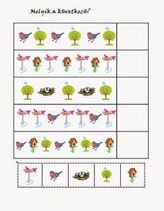 birds pattern for kıds Free Preschool, Preschool Worksheets, Preschool Learning, Hidden Picture Puzzles, Cicely Mary Barker, Hidden Pictures, Bird Patterns, Working With Children, Fun At Work