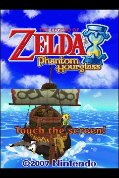 File:The Legend Of Zelda- Phantom Hourglass-title.png