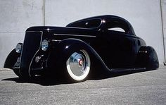 1936 Ford 3 Window Coup built by Cole Foster of Salinas Boys Customs for Kirk Hammett