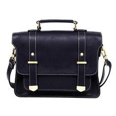 Leather Messenger Vintage Satchel/Bag