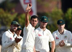 Australia fast bowler Mitchell Starc may be back playing cricket in October after injuring his left ...