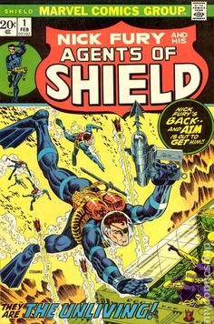 NICK FURY AND HIS AGENTS OF SHIELD 1, BRONZE AGE MARVEL COMICS