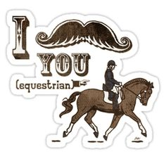 Funny variation of the I moustache you a question. Never mind I'll shave it for later theme. Funny Horses, Funny Animals, Quirky T Shirts, Pony Rides, Funny Slogans, Horse Quotes, Love Stickers, Horse Care, Moustache