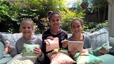 Pillows, Pouches, & Bows, Oh My!!! This is a camp for you to teach your children to sew in the form of a Summer Sewing Camp. The Lost Apron