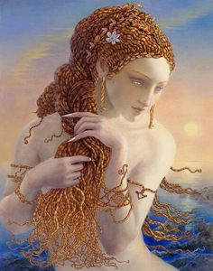 Medusa by K.Y. Craft. I absolutely LOVE the way she did her hair--so intricate and beautiful.