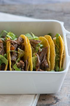 Beef Recipe :Fire Roasted Tomato and Beef Tacos Recipe