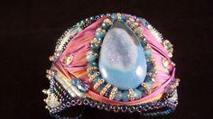 Hey, I found this really awesome Etsy listing at https://www.etsy.com/listing/223715315/shibori-silk-druzy-quartz-embroidery