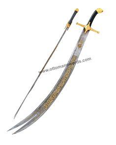 zulfiqar sword real turkey replicas #sword #zulfiqarsword Turkish Bow, Replica Swords, Cane Sword, Damascus Sword, Camp Axe, Wood Arrow, Archery Equipment, Katana Swords, Bushcraft Knives