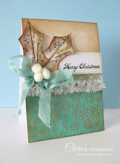Clare's creations: #cards #christmas
