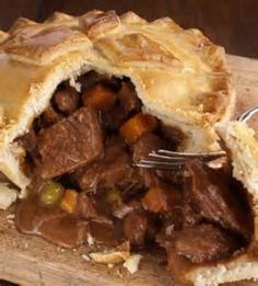 Beefy Pot Pie Recipe from The Healthy Kitchen