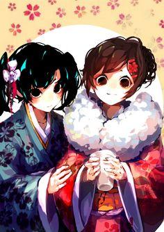 Enomoto Takane and Tateyama Ayano
