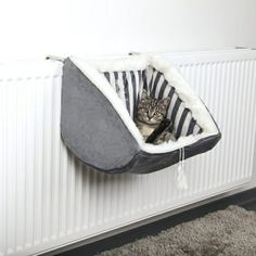 PET Cat Prince RADIATOR Warm FLEECE BED BASKET Cradle Hammock by Trixie Contains: 1 Radiator Bed Size: 38 30 38 cm Short-hair plush cover Polyester fleece filling Stable metal frame With adjustable holding device For all conventional rad. Animal Room, Crazy Cat Lady, Crazy Cats, Cat Room, Pet Furniture, Furniture Movers, Luxury Furniture, Office Furniture, Cat Accessories