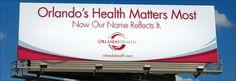 Orlando Health #billboard