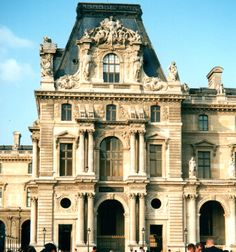 Section of Louvre