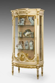 ~ A 19th c. 'Belle Epoque' China Cabinet ~ onlinegalleries.com