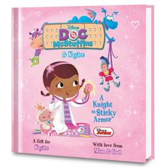 Disney's Doc McStuffins: A Knight in Sticky Armor Personalized Book - Personalized Books - Books | Tv's Toy Box