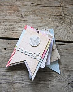 A cute idea for a mini book!