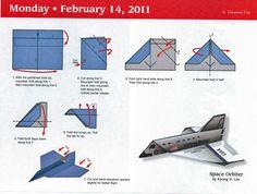 best paper plane folding instructions - Google keresés