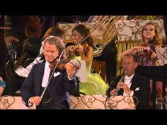 """André Rieu & his Johann Strauss Orchestra playing """"The Beautiful Blue Danube"""" (An der schönen blauen Donau) by composer Johann Strauss II. Johann Strauss Orchestra, Italy Culture, Merry Widow, The 5th Of November, Conductors, Best Songs, Classical Music, Music Songs, Youtube"""