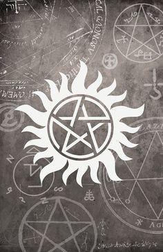 Supernatural protection mark