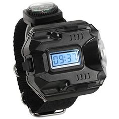 Lixada 2-in-1 LED Watch Flashlight Wristlight Rechargeable Lamp Wrist Lighting Outdoor Torch >>> Check this awesome product by going to the link at the image. (This is an affiliate link) #HealthMonitors