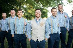 Southern Style Barn Wedding - Rustic Wedding Chic