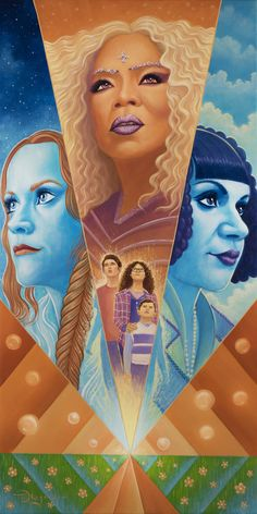 """See a First Look at the Artwork From """"A Warrior Showcase: An Art Celebration of A Wrinkle in Time"""""""