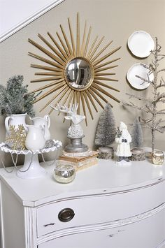 Come join me for a tour of my holiday home decor