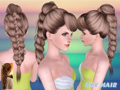 Hair 247 Set by Skysims - Sims 3 Downloads CC Caboodle