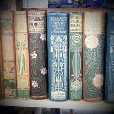 I want to own all of these books. Simply to just look at their beauty.