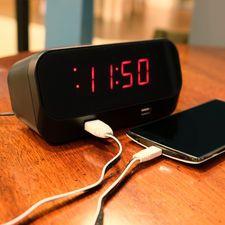 Bush Baby Wifi Alarm Clock Spy Camera/DVR