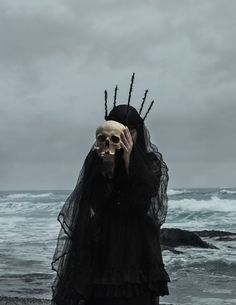 Daniel Vazquez - Photographer 'American Ghoul', also known as Daniel Vazquez, has a knack for capturing the strange and surreal in his photography work . The Wicked The Divine, Yennefer Of Vengerberg, Arte Obscura, Sea Witch, Water Witch, Dark Witch, Witch Aesthetic, Aesthetic Eyes, Gothic Aesthetic