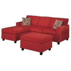 Bobkona Modular 3 Piece Sectional Set