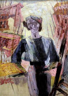 Study of a female figure 1911 - UMBERTO BOCCIONI 1882-1916 #TuscanyAgriturismoGiratola