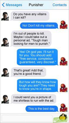 Texts From SuperheroesFacebook | Twitter | Patreon