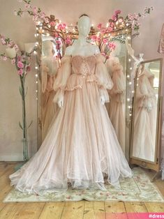 Pink Prom Dresses, Prom Dresses With Sleeves, Pretty Dresses, Beautiful Dresses, Evening Dresses, Dresses Dresses, Short Dresses, Fairytale Dress, Fairy Dress