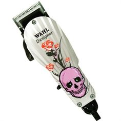 Picture of Wahl Professional Designer Clipper Skull Tattoo Print #8355-1401