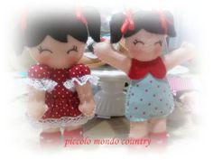 bambole in pannolenci