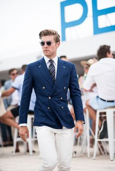 Portsea Polo 2017 - men's fashion suited look