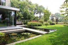 Moderne landelijke tuin